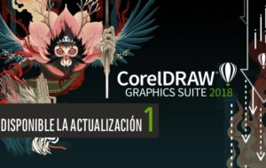 Disponible la actualización 1 para CorelDRAW 2018