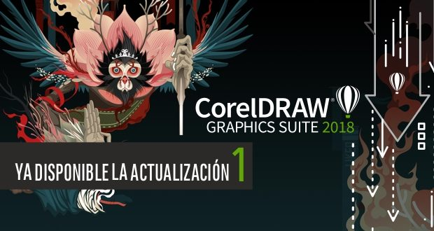 Disponible la actualización 1 para CorelDRAW 2018