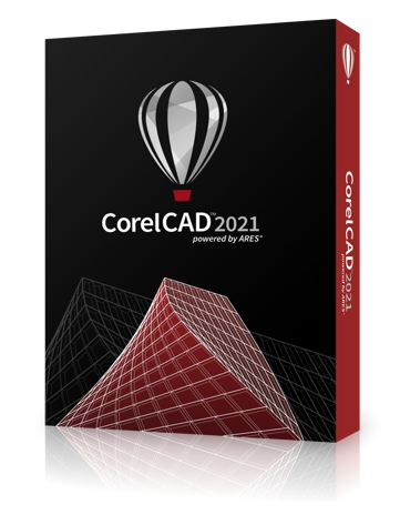 Caja del programa CorelCAD 2021