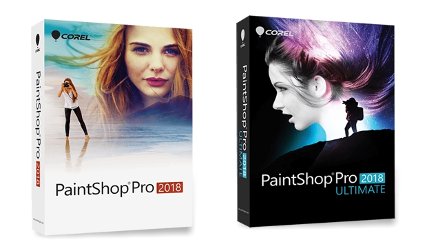 Cajas PaintShop Pro y Ultimate