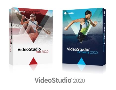 Cajas de Corel VIDEOSTUDIO 2020