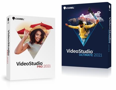 Cajas de Corel VideoStudio 2021