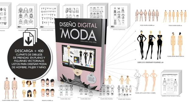 Descarga material exclusivo del libro Diseño Digital de MODA