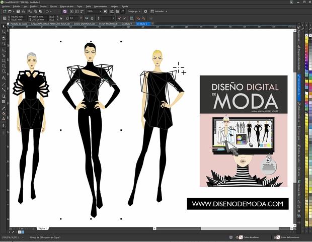 Diseño Digital de Moda en CorelDRAW