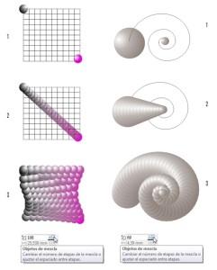 Otros ejemplos creados con la misma técnic