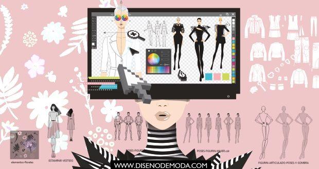 Diseño Digital de Moda el libro imprescindible para diseñar moda