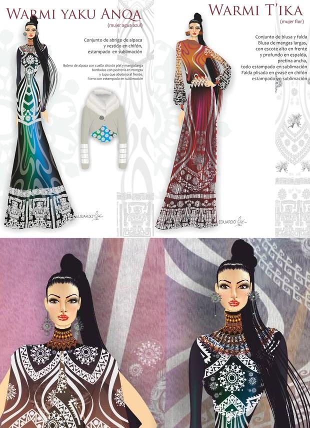 Diseños de modas de Eduardo Meliá