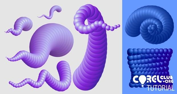 Tutorial formas con volumen y aspecto 3D en CorelDRAW
