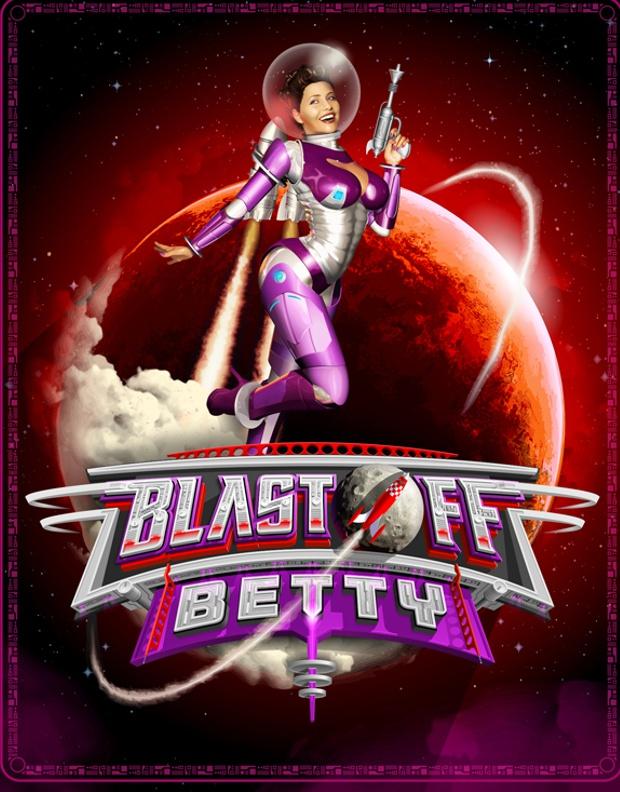 BlastOff Betty, ilustración de Joseph Díaz