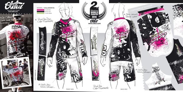 Diseño ganador en la categoría de Diseño de Moda de Jose Luis Vallribera