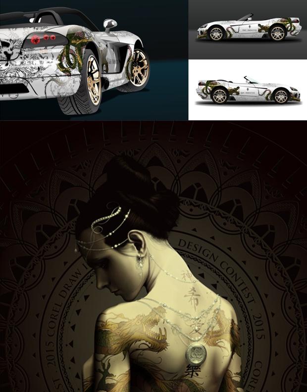 Dos de los diseños premiados de Rogelio Hernandez - México