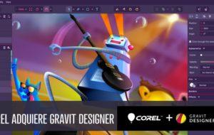 Corel Corporation adquiere Gravit Designer