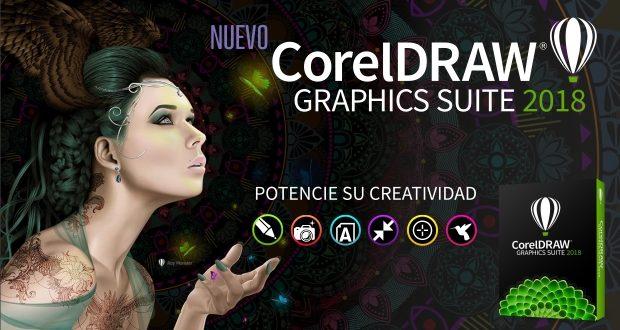 Nuevo CorelDRAW Graphics Suite 2018