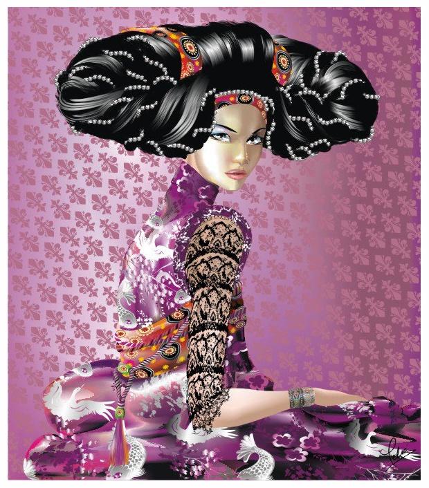 Ilustración de moda de Eduardo Meliá