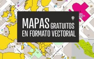 Descarga gratis mapas vectoriales