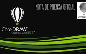 Nota de prensa oficial lanzamiento CorelDRAW Graphics Suite 2017