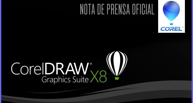 Nota de prensa oficial CORELDRAW Graphics Suite X8