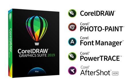 Aplicaciones principales de CorelDRAW para Mac