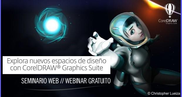 Seminario web gratis de CorelDRAW Graphics Suite