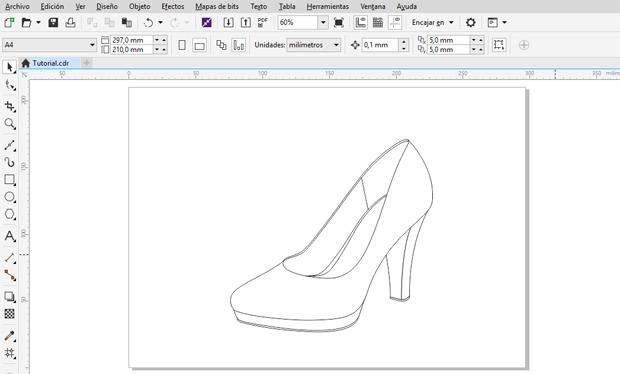 Creación de todos los objetos cerrados del zapato