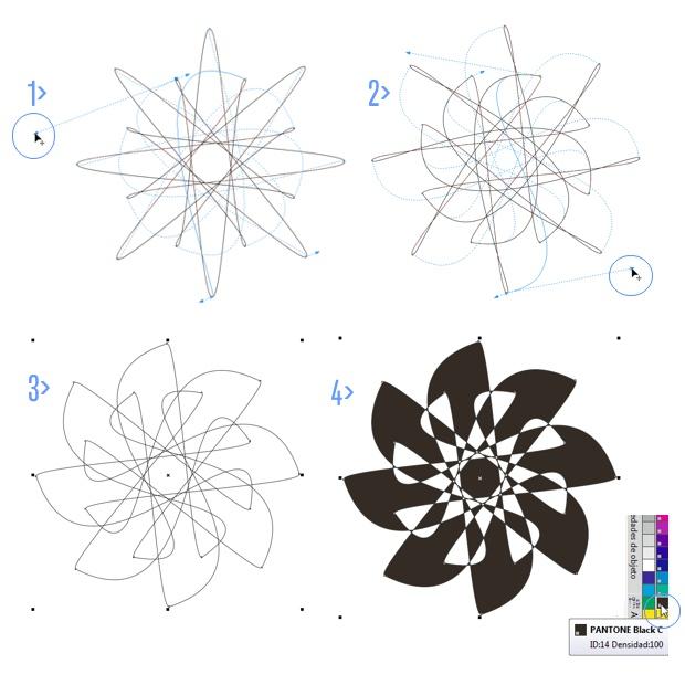 Modificando interactivamente la forma del polígono