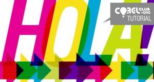TUTORIAL > Logo multicolor en CorelDRAW