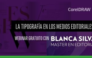 Webinar la Tipografía en medios editoriales por BLANCA SILVA