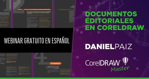 Webinar Diseño Editorial con DANIEL PAIZ CorelDRAW Master