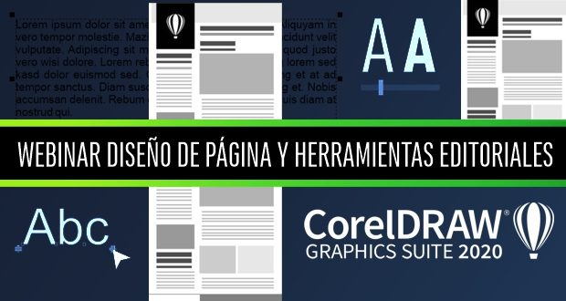 Webinar gratuito DISEÑO DE PAGINA Y HERRAMIENTAS EDITORIALES