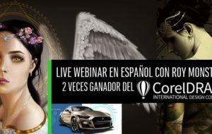 Live Webinar con ROY MONSTER ganador del Concurso Internacional de CorelDRAW